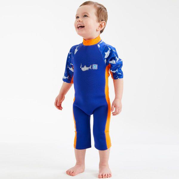 Costum protecție UV/neopren copii - UV Sun & Sea Rechinii Simpatici 2