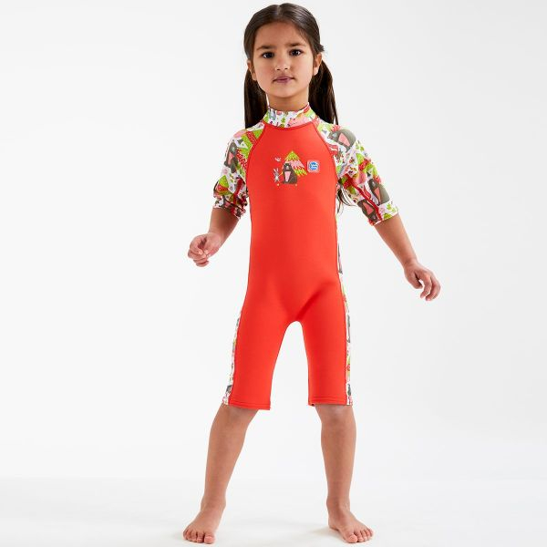 Costum protecție UV/neopren copii - UV Sun & Sea Din Pădure 2