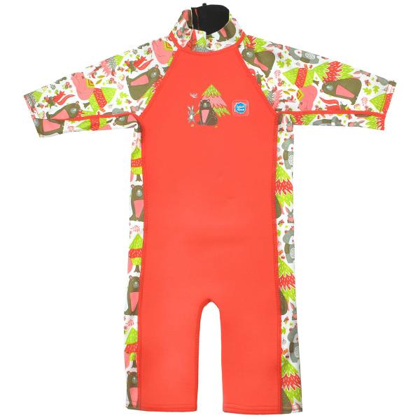 Costum protecție UV/neopren copii - UV Sun & Sea Din Pădure 0