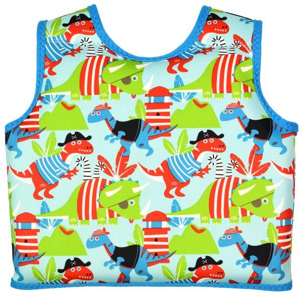 Vestă înot copii - Go Splash Swim Vest Pirații Dino [1]