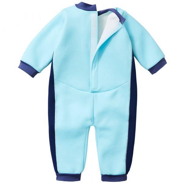 Costum întreg neopren bebeluşi - Warm In One™ Albastru Cobalt 1