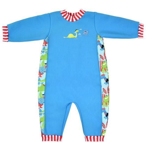 Costum întreg neopren bebeluşi - Warm In One™ Pirații Dino [0]