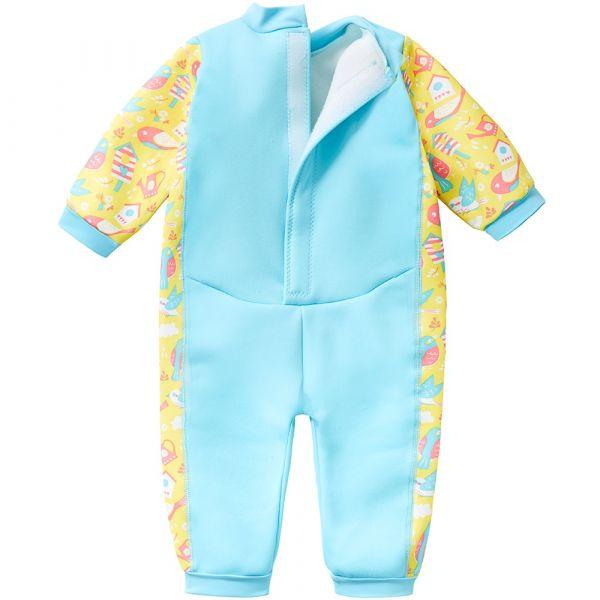 Costum întreg neopren bebeluşi - Warm In One™ Păsări de Grădină 1