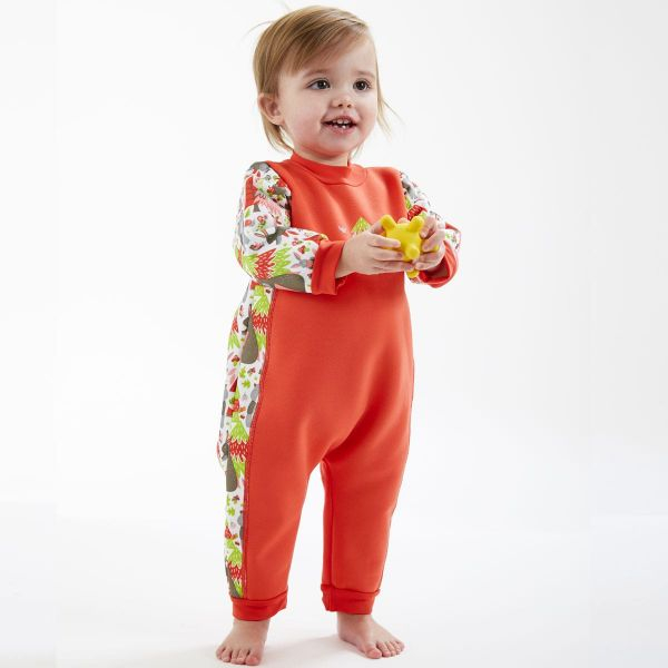 Costum întreg neopren bebeluşi - Warm In One™ Din Pădure 2