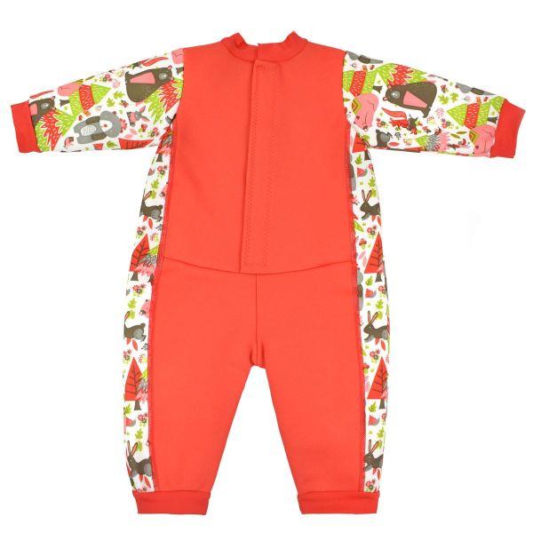 Costum întreg neopren bebeluşi - Warm In One™ Din Pădure 1