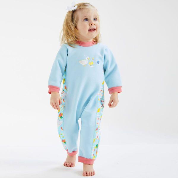 Costum întreg neopren bebeluşi - Warm In One™ 5 Rațuşte 2
