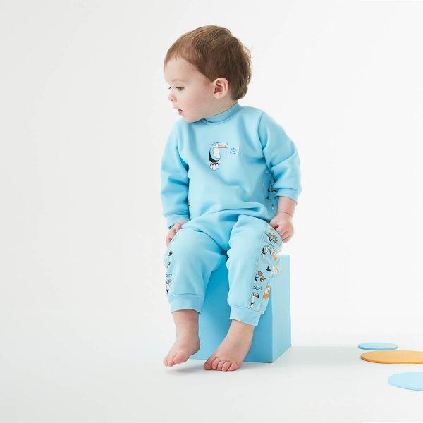 Costum întreg neopren bebeluşi - Warm In One™ Arca lui Noe 2