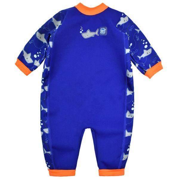 Costum întreg neopren bebeluşi - Warm In One™ Rechinii Simpatici 0