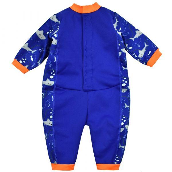 Costum întreg neopren bebeluşi - Warm In One™ Rechinii Simpatici 1