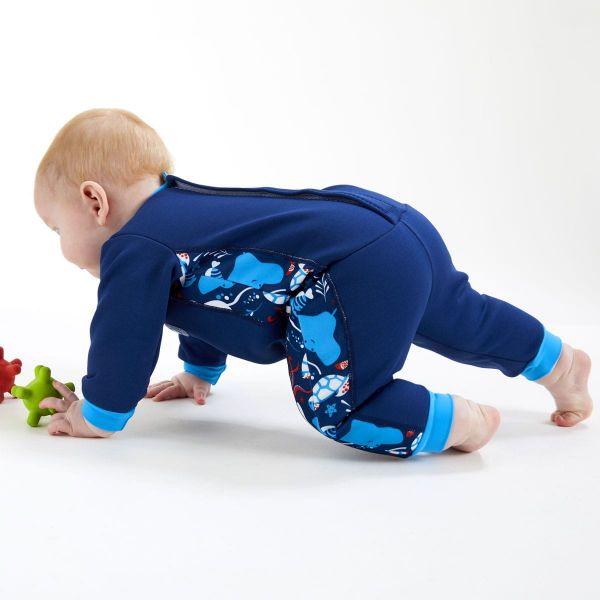 Costum întreg neopren bebeluşi - Warm In One™ Din Ocean 2