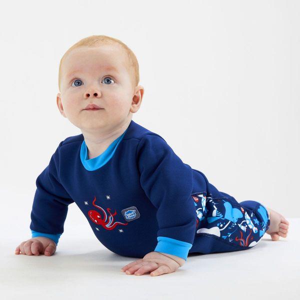 Costum întreg neopren bebeluşi - Warm In One™ Din Ocean 3