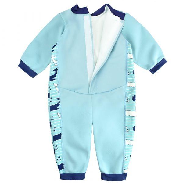Costum întreg neopren bebeluşi - Warm In One™ Balene Uriaşe 1