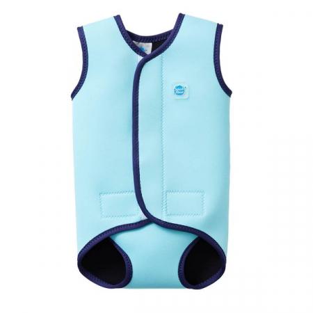 Costum neopren cu velcro bebeluşi - Baby Wrap™ Albastru Cobalt0