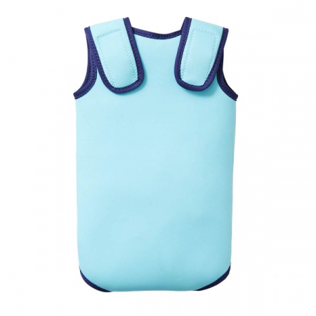 Costum neopren cu velcro bebeluşi - Baby Wrap™ Albastru Cobalt1