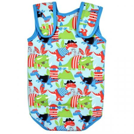 Costum neopren cu velcro bebeluşi - Baby Wrap™ Pirații Dino1