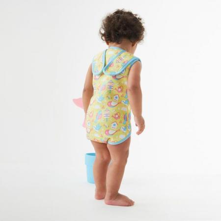 Costum neopren cu velcro bebeluşi - Baby Wrap™ Păsări de Grădină2