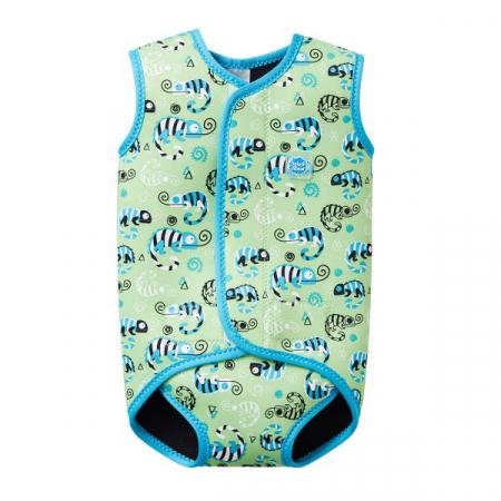 Costum neopren cu velcro bebeluşi - Baby Wrap™ Gegoşii Verzi0