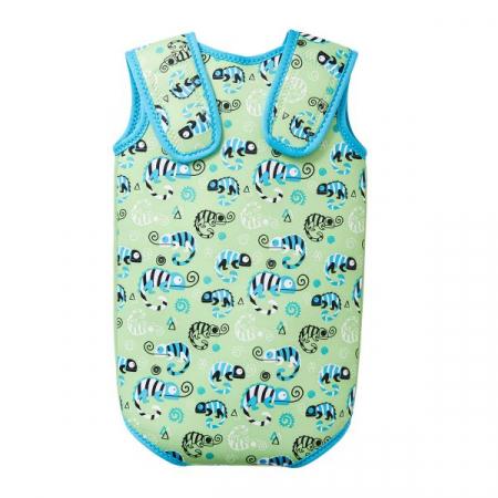 Costum neopren cu velcro bebeluşi - Baby Wrap™ Gegoşii Verzi1