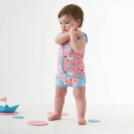Costum neopren cu velcro bebeluşi - Baby Wrap™ Arca Ninei2