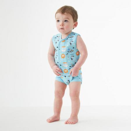 Costum neopren cu velcro bebeluşi - Baby Wrap™ Arca lui Noe2