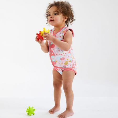 Costum neopren cu velcro bebeluşi - Baby Wrap™ Bufnițe şi Pisicuțe2