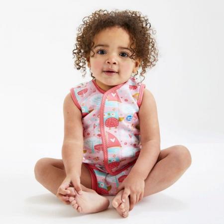 Costum neopren cu velcro bebeluşi - Baby Wrap™ Bufnițe şi Pisicuțe3