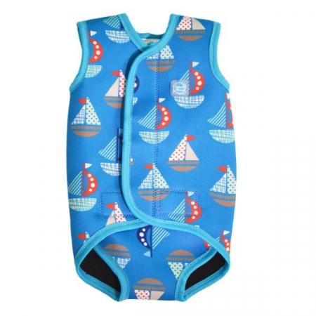 Costum neopren cu velcro bebeluşi - Baby Wrap™ Micul Navigator0