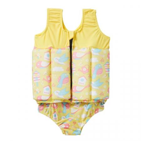 Costum înot plutitor fete - Floatsuit Păsări de Grădină1