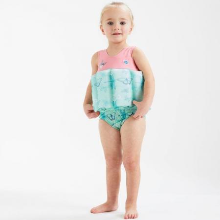 Costum înot plutitor fete - Floatsuit Libelule3