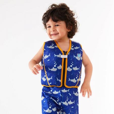 Vestă înot 8 plutitoare copii - Go Splash Jacket Rechinii Simpatici1