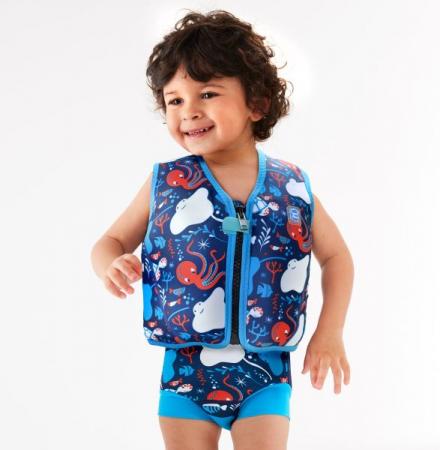 Vestă înot 8 plutitoare copii - Go Splash Jacket Din Ocean2