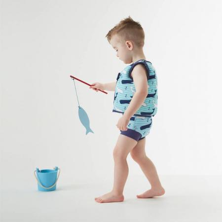 Vestă înot copii - Go Splash Swim Vest Balene Uriaşe2