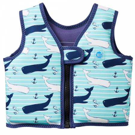 Vestă înot copii - Go Splash Swim Vest Balene Uriaşe0