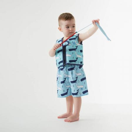 Vestă înot copii - Go Splash Swim Vest Balene Uriaşe4