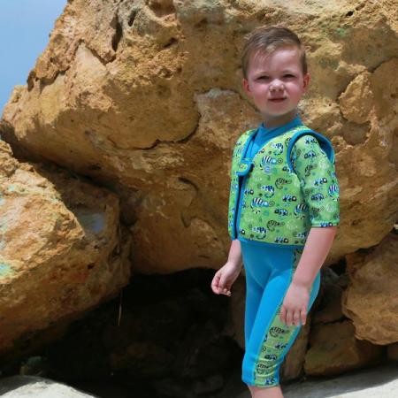 Vestă înot copii - Go Splash Swim Vest Gegoşii Verzi4