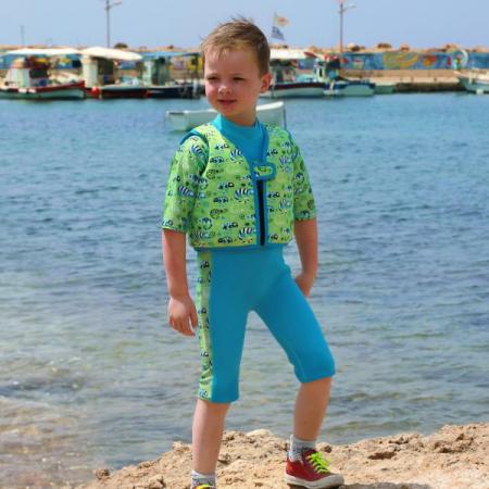 Vestă înot copii - Go Splash Swim Vest Gegoşii Verzi3
