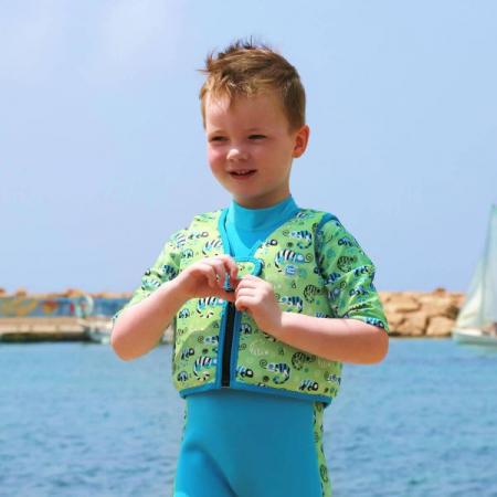 Vestă înot copii - Go Splash Swim Vest Gegoşii Verzi2