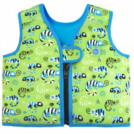 Vestă înot copii - Go Splash Swim Vest Gegoşii Verzi0