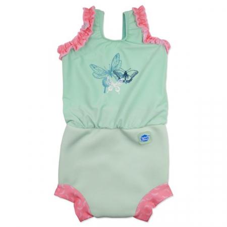 Costum înot/scutec de apă bebeluşi - Happy Nappy™ Libelule0