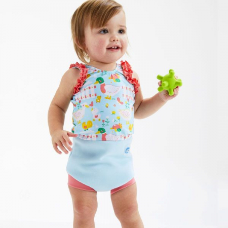Costum înot/scutec de apă bebeluşi - Happy Nappy™ 5 Rațuşte [3]