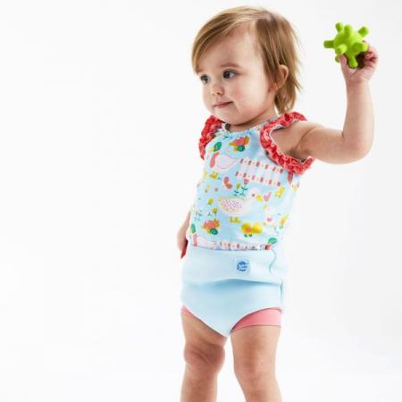 Costum înot/scutec de apă bebeluşi - Happy Nappy™ 5 Rațuşte [2]