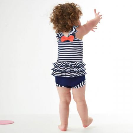 Costum înot/scutec de apă bebeluşi - Happy Nappy™ Nautic3