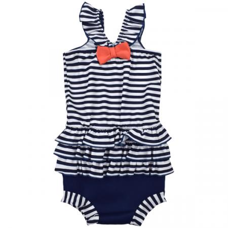 Costum înot/scutec de apă bebeluşi - Happy Nappy™ Nautic1