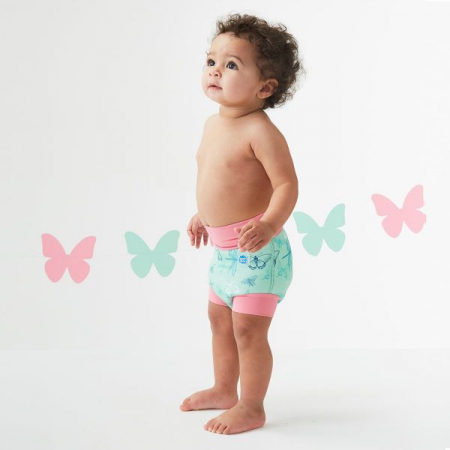 Slip înot/scutec de apă bebeluşi - Happy Nappy™ Libelule3