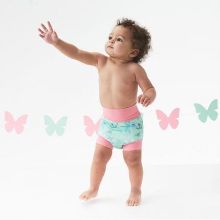 Slip înot/scutec de apă bebeluşi - Happy Nappy™ Libelule2