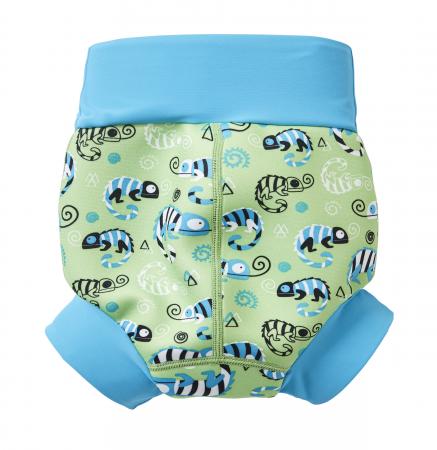 Slip înot/scutec de apă bebeluşi - Happy Nappy™ Gegoşii Verzi [1]