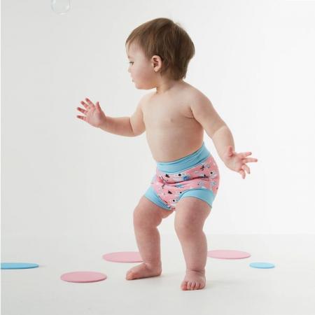Slip înot/scutec de apă bebeluşi - Happy Nappy™ Arca Ninei2
