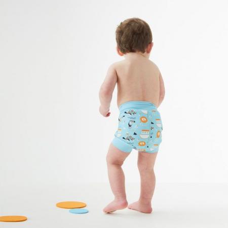 Slip înot/scutec de apă bebeluşi - Happy Nappy™ Arca lui Noe2