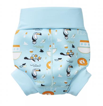 Slip înot/scutec de apă bebeluşi - Happy Nappy™ Arca lui Noe1