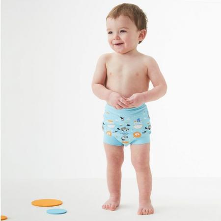 Slip înot/scutec de apă bebeluşi - Happy Nappy™ Arca lui Noe3